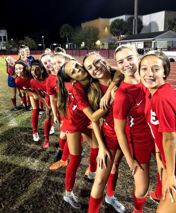 Edgewater Girls Soccer Interest