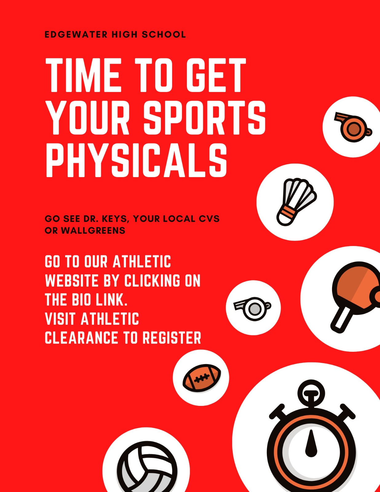 Sports Physicals Info: Where and How