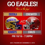 Purchase Tickets or Watch Eagle Football Live!!