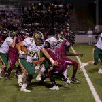 Varsity Football beat Laguna Creek High School 49-0
