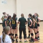 Placer High School Girls Freshman Volleyball beat Manteca High School 2-0