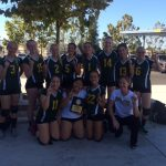 Freshmen Volleyball Edison Tourney CHAMPIONS