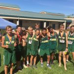 Boys JV Cross Country finishes 5th place at Sub-Section Meet