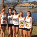 Girls JV Cross Country finishes 2nd at Section Championships