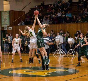 Girls Varsity Basketball Round 1 Playoff vs River Valley