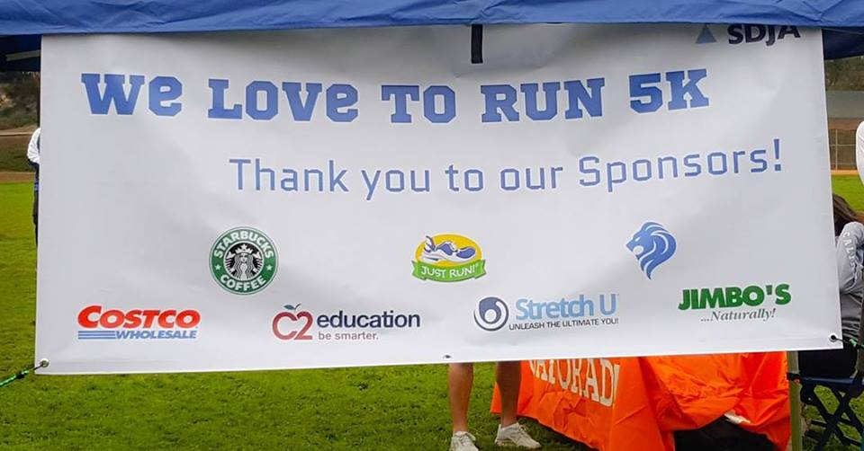 Thank you to our 5K Sponsors!