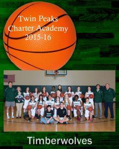 Varsity Girls Basketball – 2015-16