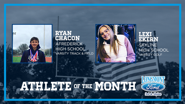 And the May Athlete of the Month Winners Are…