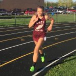 Winamac Community High School Girls Varsity Track finishes 1st place