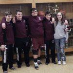 Boys Varsity Wrestling beats LaVille 45 – 33