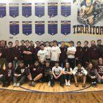 Boys Varsity Wrestling finishes 1st place at HNAC