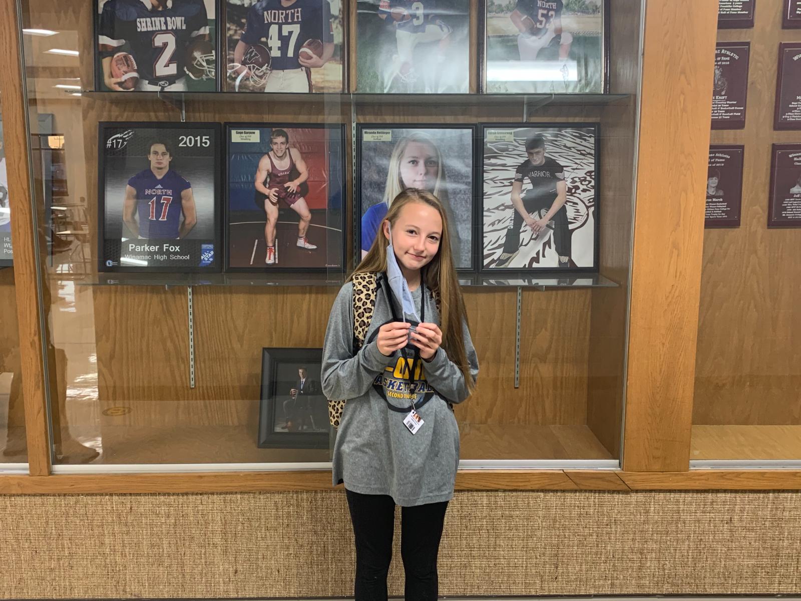 Kroft wins HNAC middle school girls' XC championship