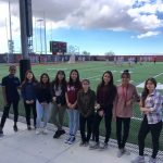 With help from IMIN, Hoover girls go see the Aztec Women's Lacrosse home opener!