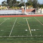 Lacrosse is coming Tuesday……lines are painted on the stadium field!