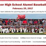 Hoover HS Alumni Baseball Day