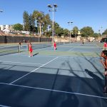 Girls Tennis moves on to Quarter Finals