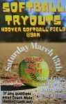 Softball Try-Outs 3/13 @ 9:00am