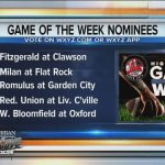 Vote Clawson for Game of the Week