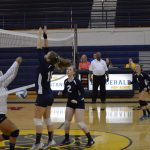 Clawson High School Girls Junior Varsity Volleyball falls to Fitzgerald High School 5-3