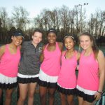 Girls Varsity Tennis beats Siegel 6 – 1