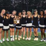 Girls Varsity Tennis beats Blackman 4 – 3