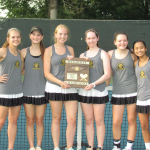 Girls Varsity Tennis beats Marshall County 4 – 0
