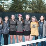 Girls Varsity Tennis drops a tight one to BGA 3-4