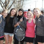 Girls Varsity Tennis falls to Blackman 5 – 2