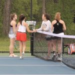 Girls Varsity Tennis beats Oakland 4 – 3
