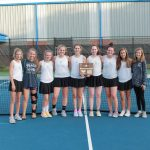 Girls Tennis Wins District Title with 4-2 win over Blackman
