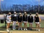 Girls Junior Varsity Tennis beats Lebanon 9 – 3