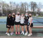 Girls Varsity Tennis beats Ravenwood 5 – 4