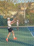 Boys Varsity Tennis falls to Merrol Hyde Magnet School 6 – 3