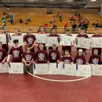 Tyler Steele, Damyan Duncan and Jaxon Copas are Central Noble Wrestling Invite Champions