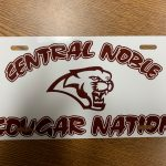 Get your Cougar Nation vanity plate today for only $15.