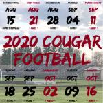 2020 Central Noble Cougar Varsity Football