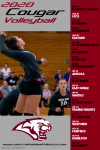 2020 Central Noble Cougar Volleyball Schedule