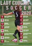 2020 Lady Cougar Varsity Soccer Schedule