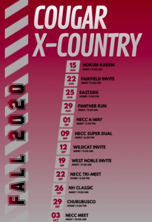 2020 Co-Ed Varsity Cross Country