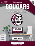Custom Cougar Wall Decals Available