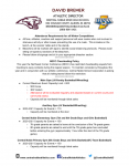 Central Noble Winter Athletic Attendance Guidelines.