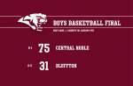 Boys Varsity Basketball beats Bluffton MS/HS 75 – 31