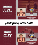 Semi-State Wrestling Tickets Available To General Public on 2/10/2021 @ 10 AM