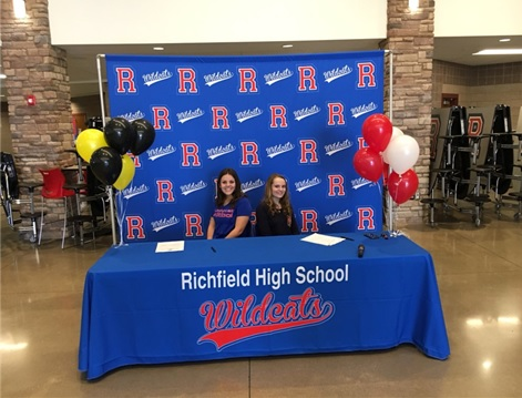 RHS Soccers Marissa Lamb and Brenley Tait's Big Day
