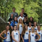 Bellevue Community High School Girls Varsity Cross Country Runs Strong