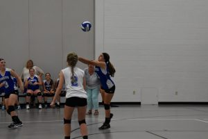 FR/SO and JV volleyball v West Liberty