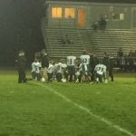 Bellevue Community High School Varsity Football beat North Cedar High School 55-7