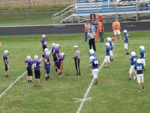 JH Football v North Cedar