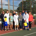 Blazer Tennis Shines on Senior Day