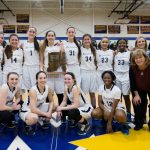 LADY BLAZERS MARCH ON